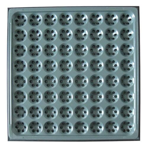 perforated raised floor