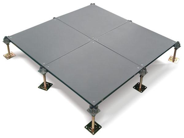 steel cement raised floor