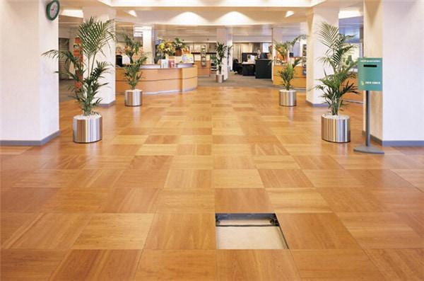 wood flooring raised floor