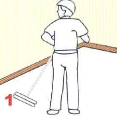 bare raised floor installation