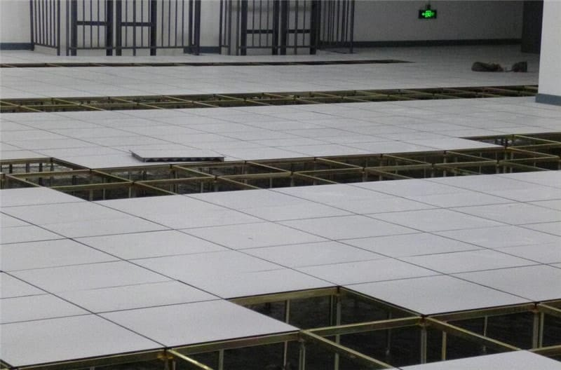 raised floor installation