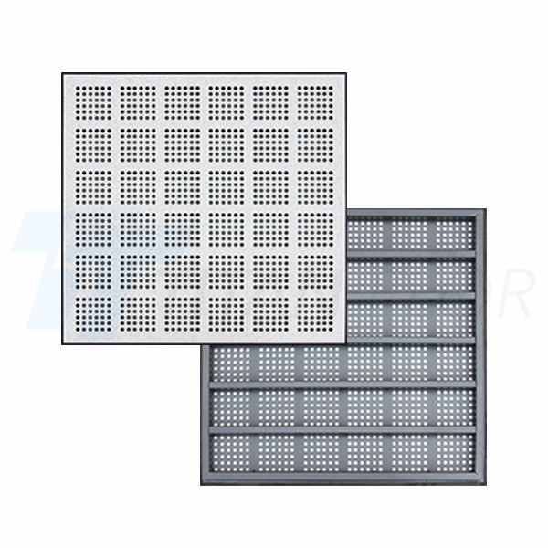 20% ventilation rate perforated panel