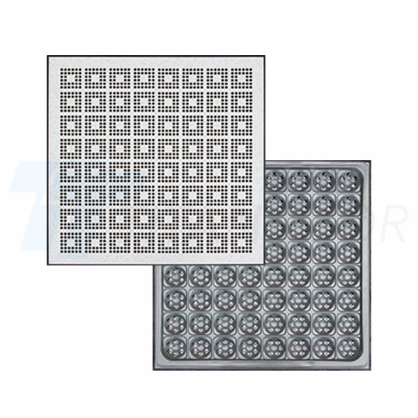 22% ventilation rate perforated panel