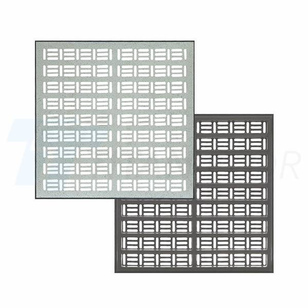 23% ventilation rate perforated panel