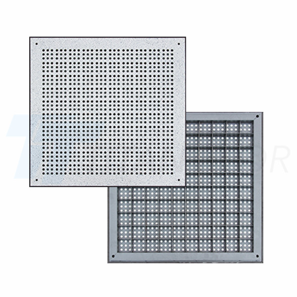 32% ventilation rate perforated panel