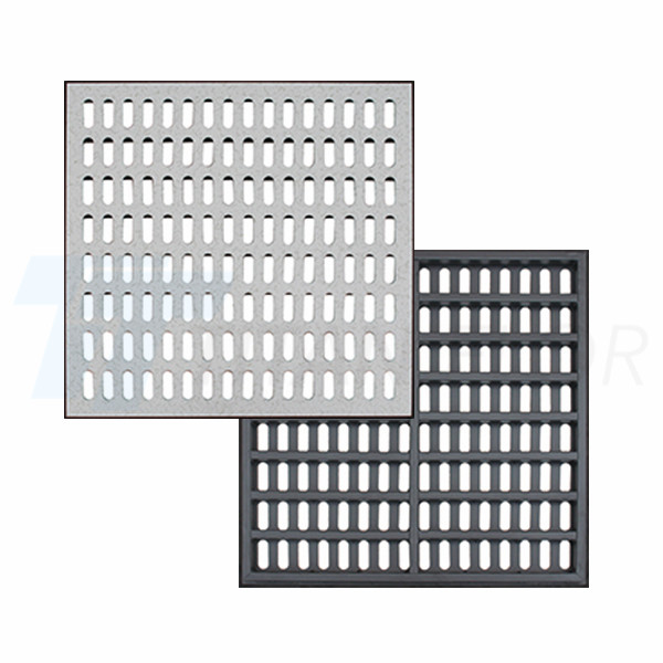 35% ventilation rate perforated panel
