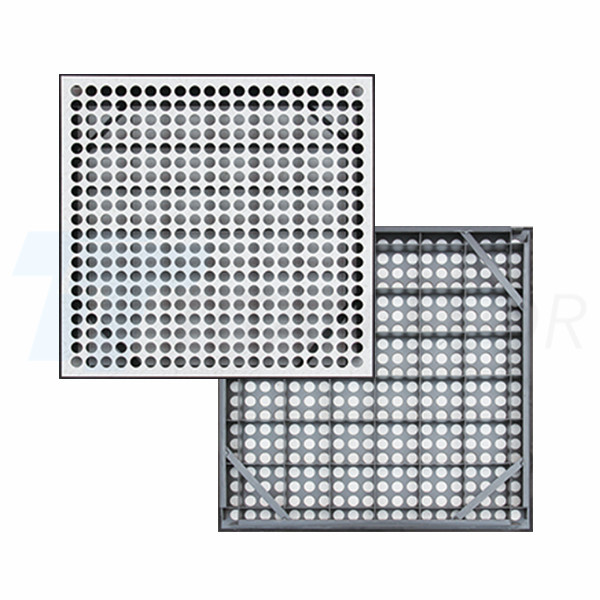 46% ventilation rate perforated panel