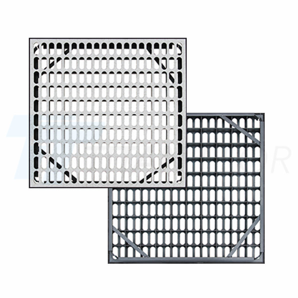 55% ventilation rate perforated panel