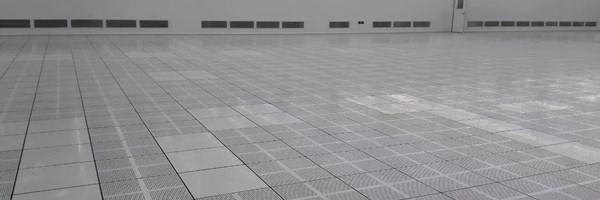 aluminum raised floor application