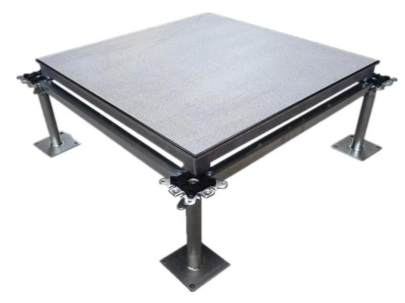 aluminum solid raised floor