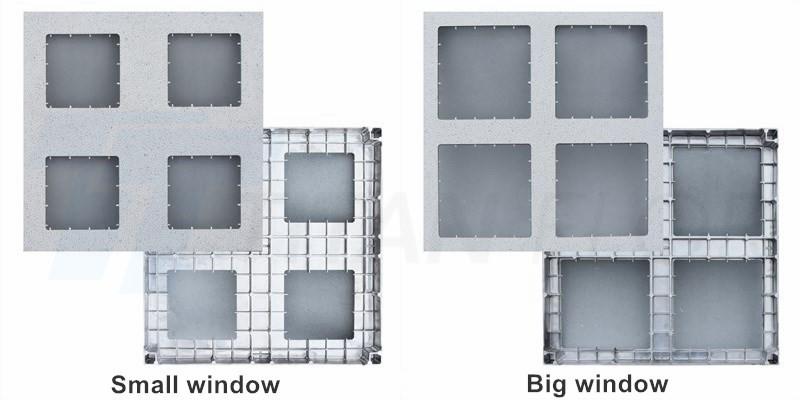 aluminum window panel