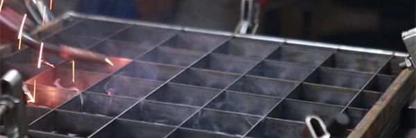 raised floor welding