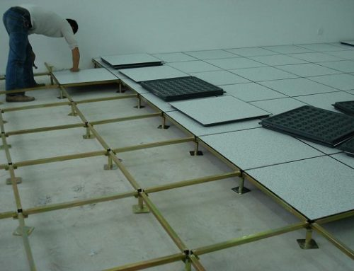 Anti-static Raised Floor Installation