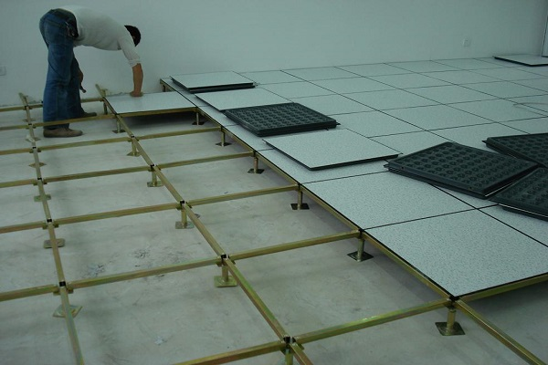 raised floor installation