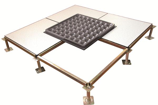 anti-static raised floor system