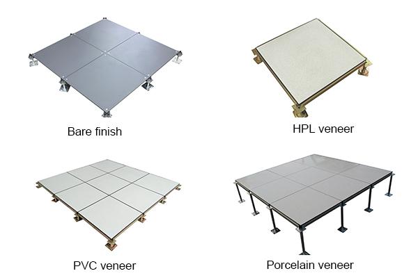 veneer of raised floor