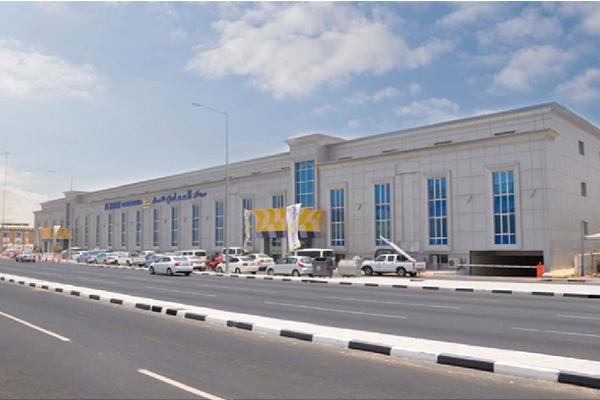 Al Emadi Business Center raised floor in Qatar