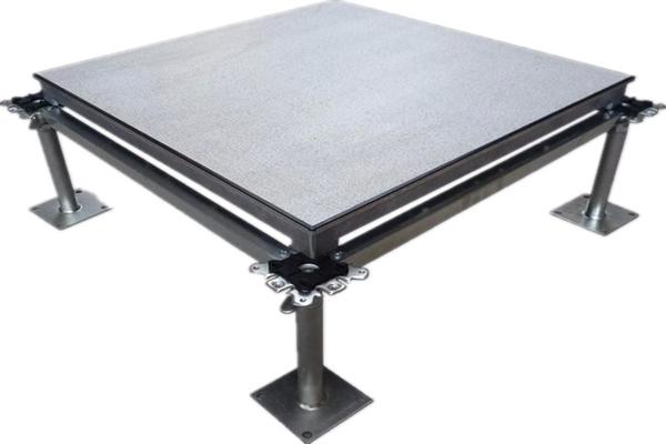 aluminum raised floor system