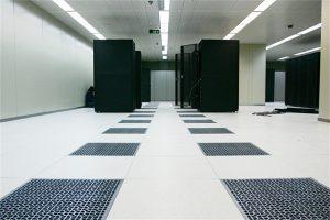 Aluminum air-flow raised access floor system