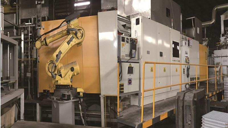 Titanflor Aluminum Raised Floor Production
