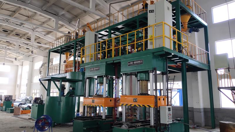 Titanflor Calcium Sulphate Raised Floor Production