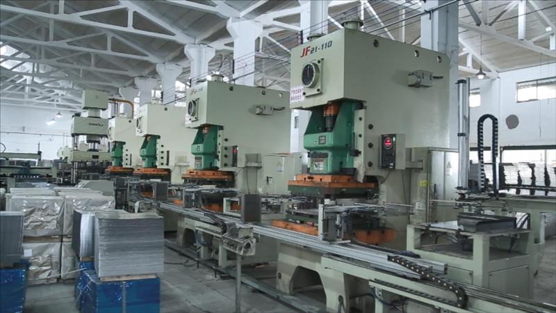 Titanflor Steel Raised Floor Production