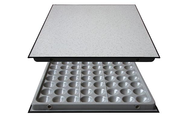 anti-static raised floor with edge trim