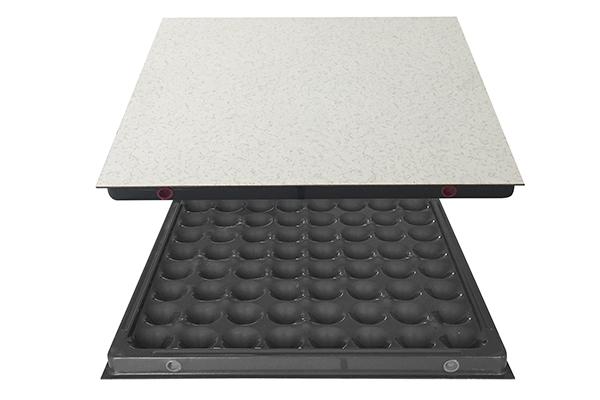 anti-static raised floor without edge trim