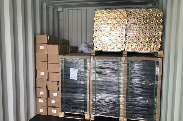 raised floor container loading