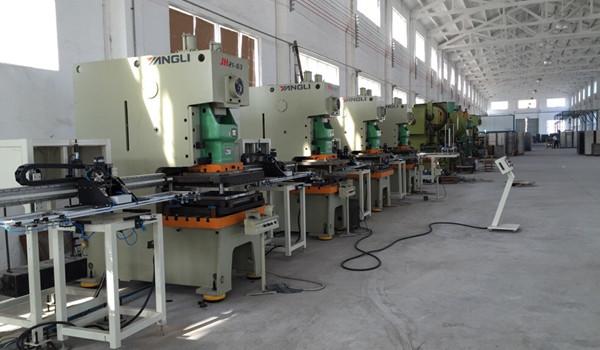 steel raised floor production