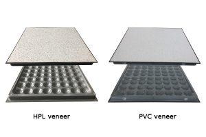 HPL and PVC veneer raised floor